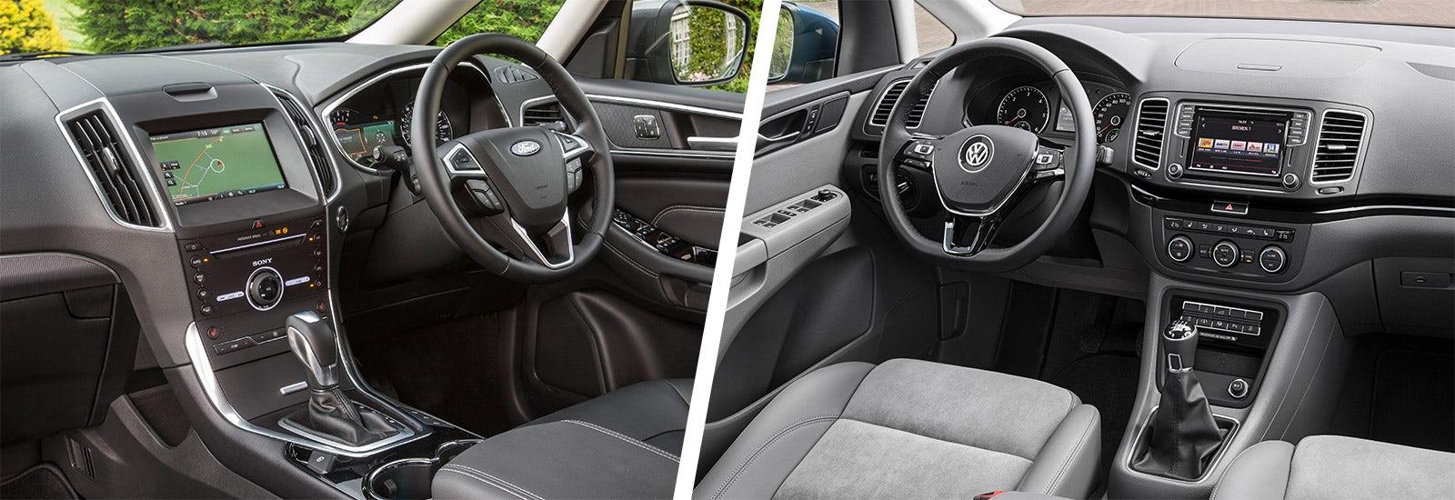 Ford Galaxy vs Volkswagen Sharan MPV comparison | carwow