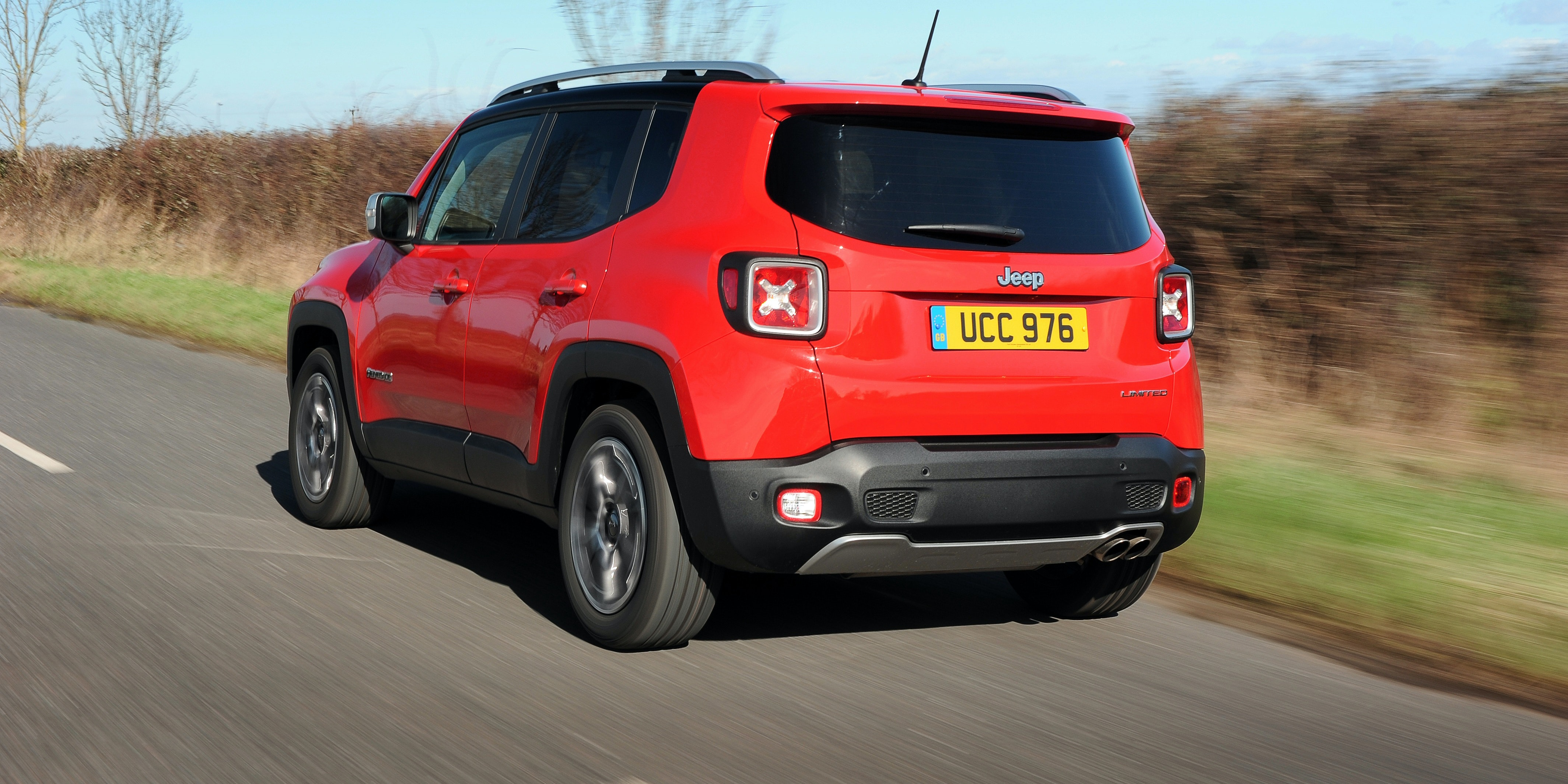 There are some big blind spots out the front and back of the Renegade