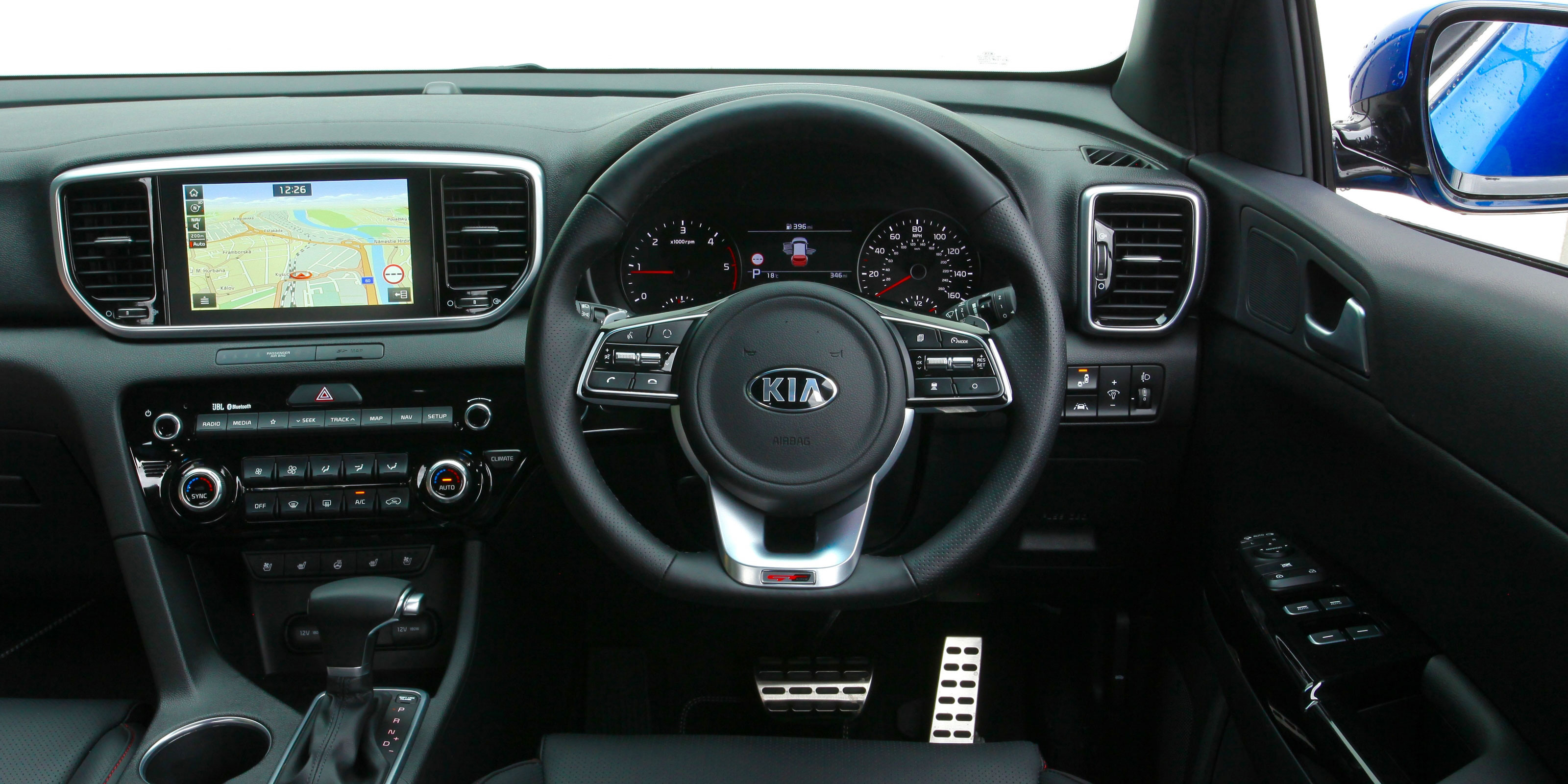 Kia Sportage Interior Dashboard on 2019 Kia Sorento Interior