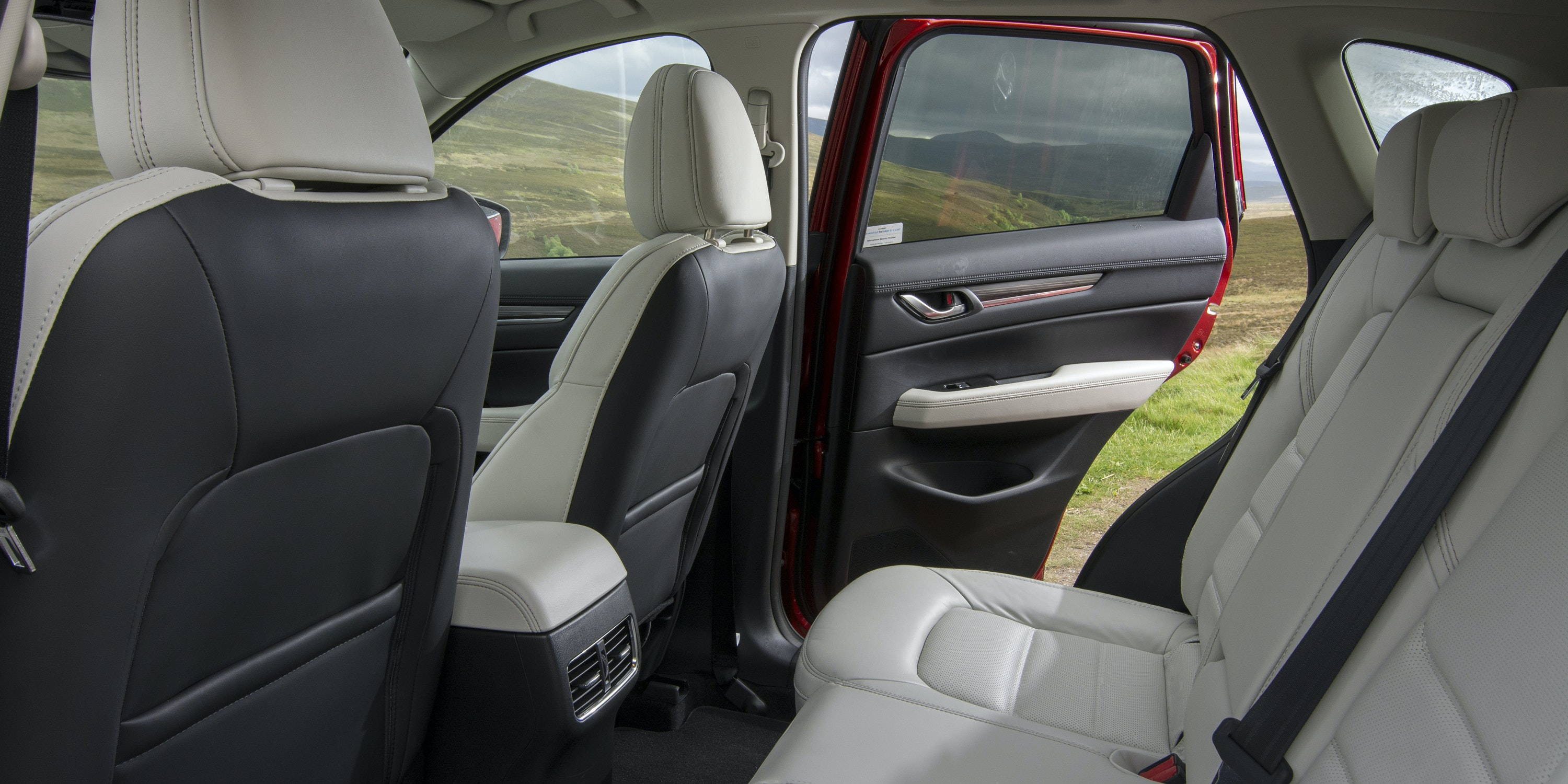 There's loads of space in the back, even for tall passengers
