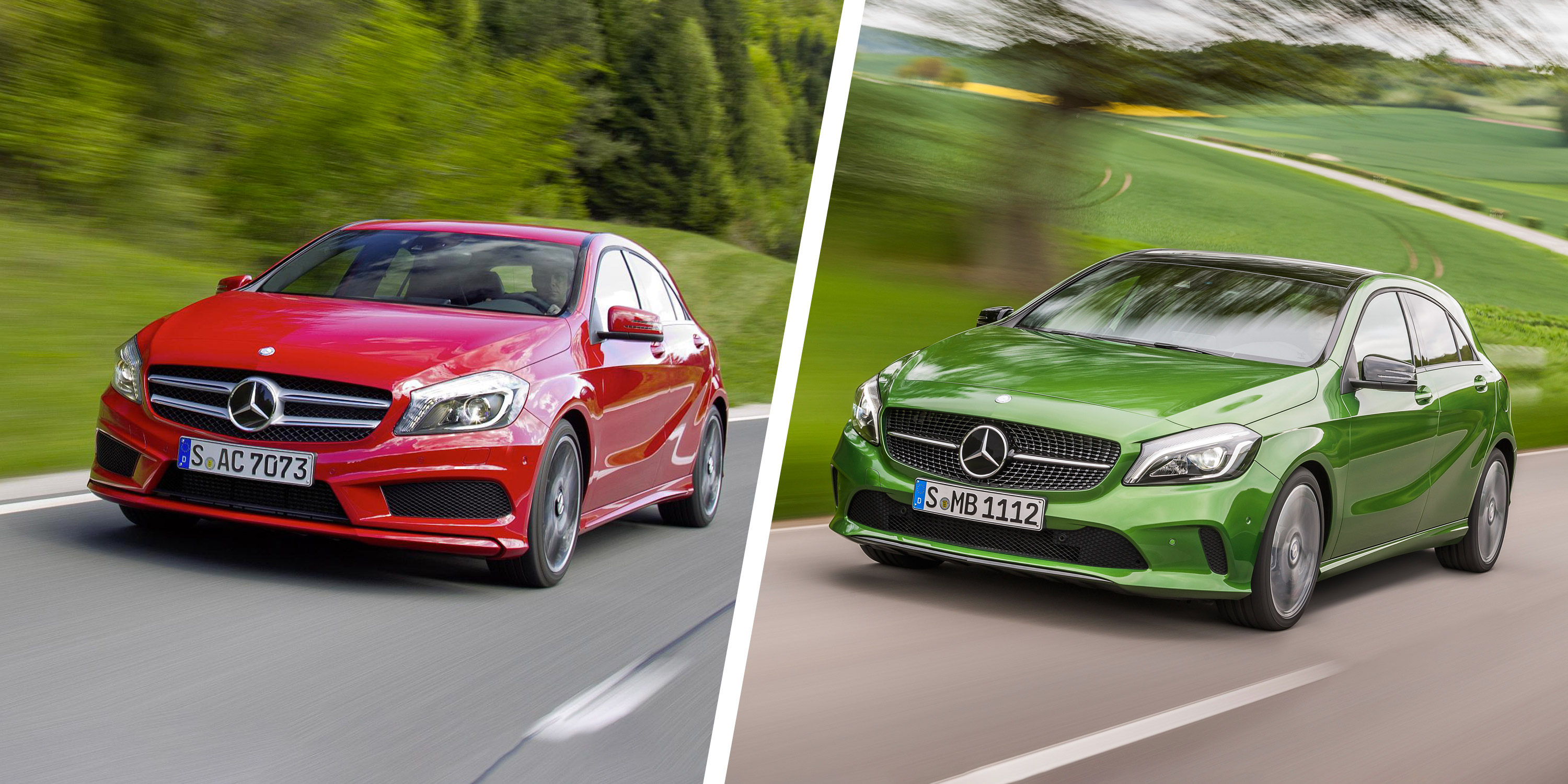 Mercedes A-Class facelift: old vs new | carwow