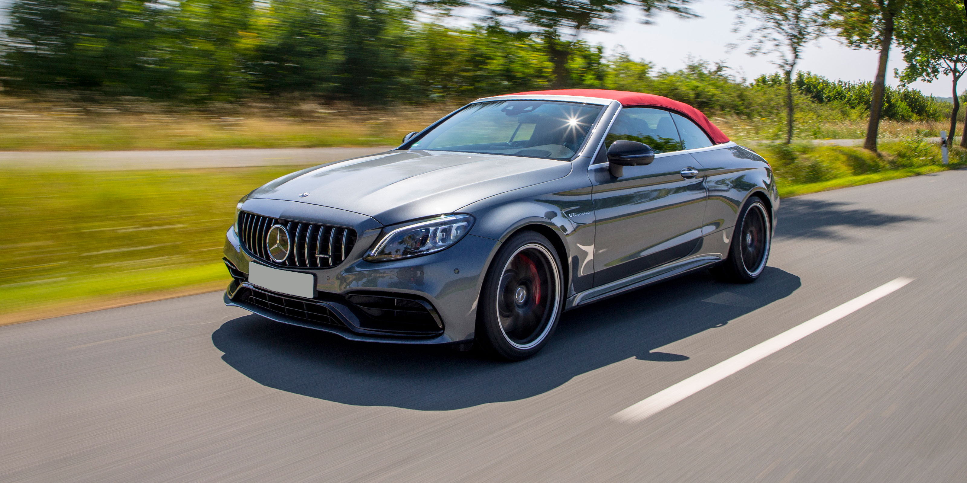mercedes amg c63 cabriolet review 2021 | carwow