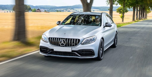 4. Mercedes AMG C63 Estate