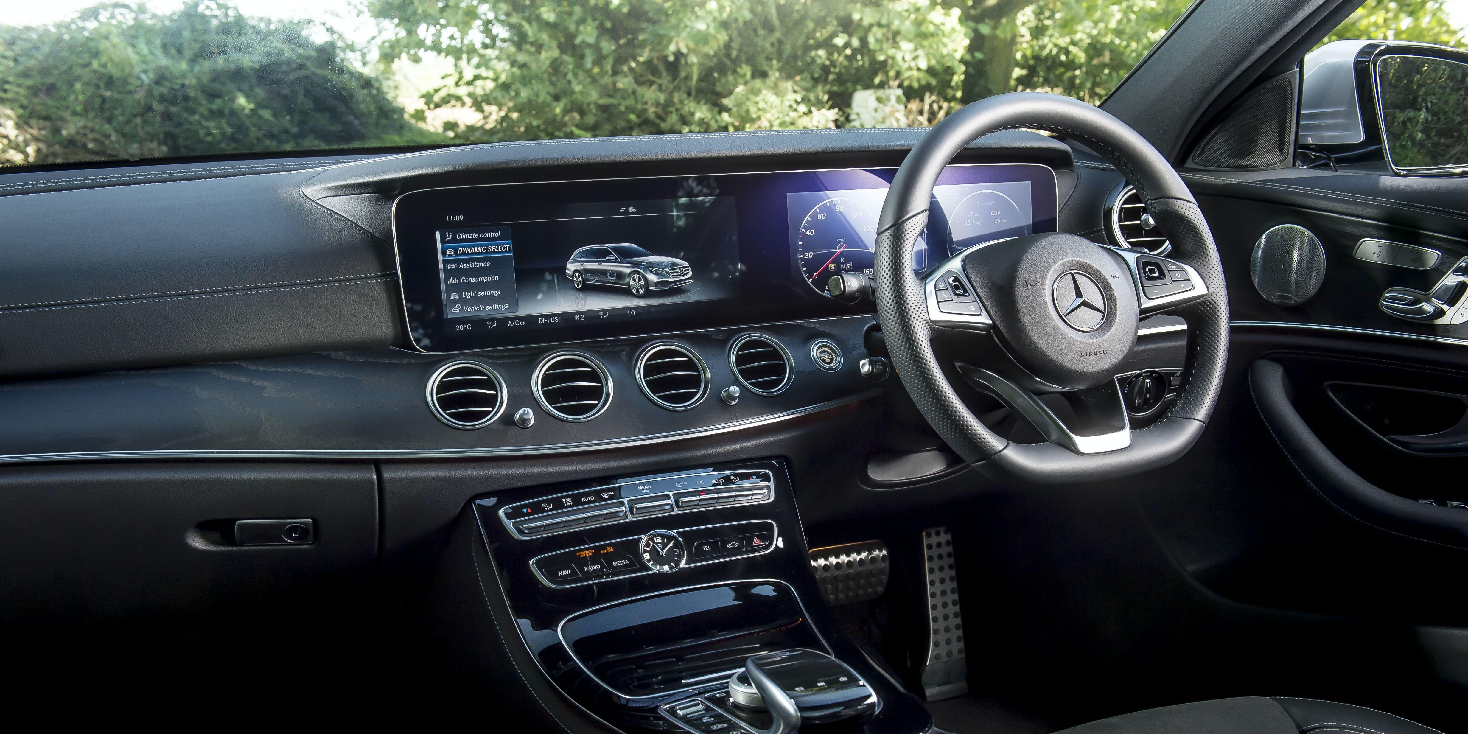 Mercedes E Class Estate Interior And Infotainment Carwow