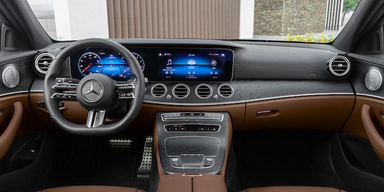 Mercedes E Class Saloon Interior Infotainment Carwow
