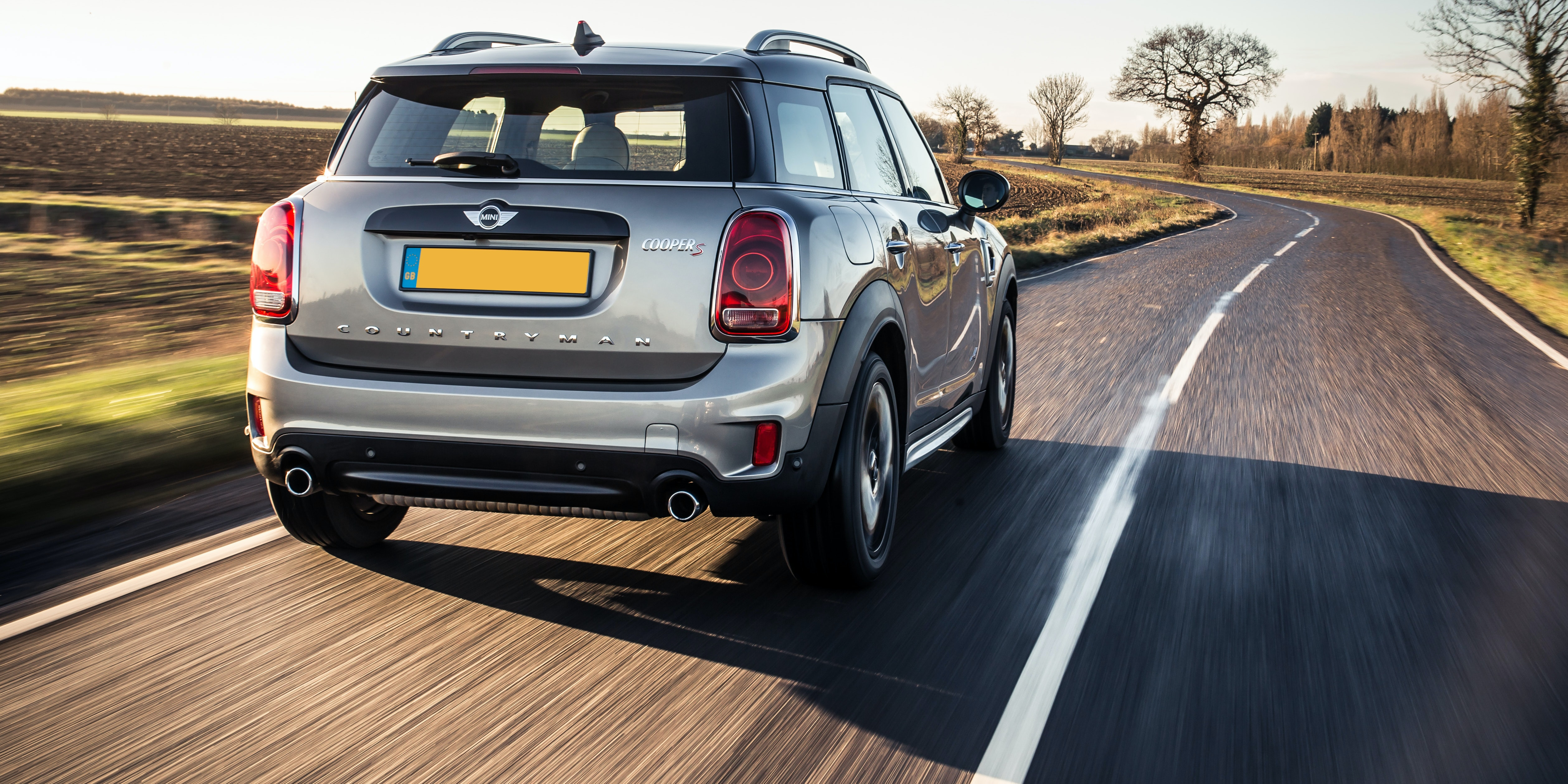 The Mini Countryman is noisier at a cruise than alternatives