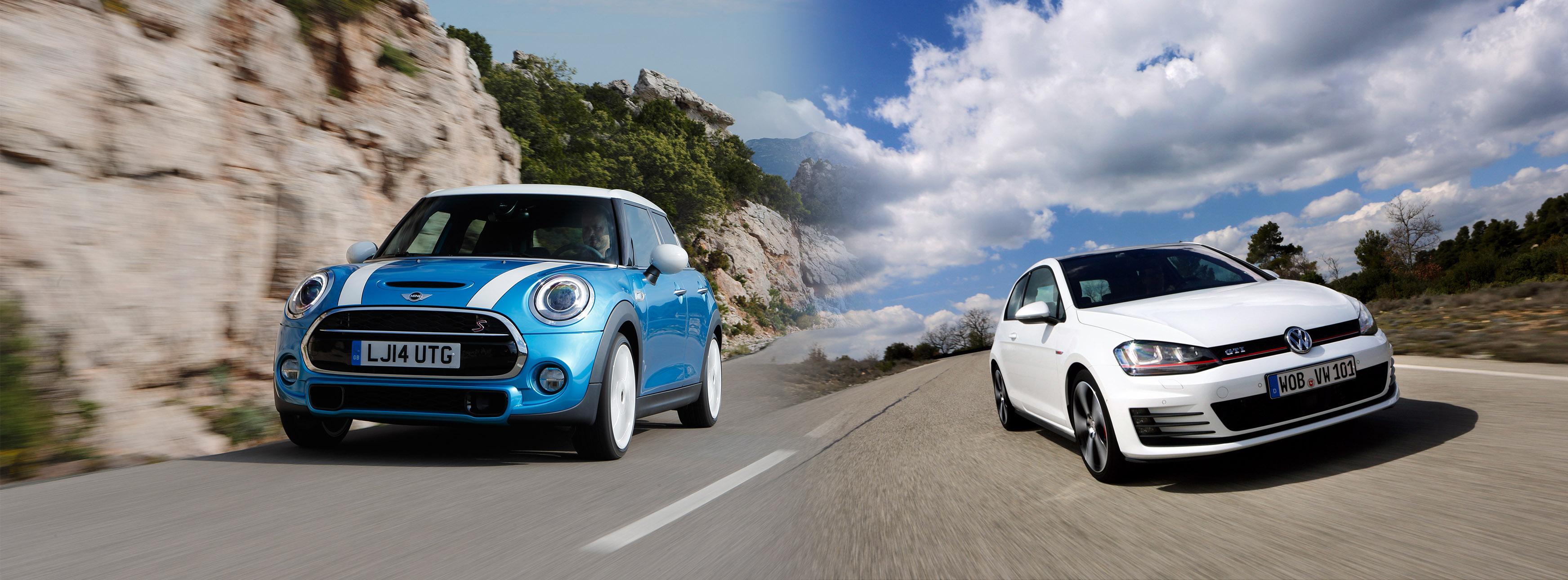 Volkswagen Golf Gti Vs Mini Cooper S Hot Hatch Legends Compared