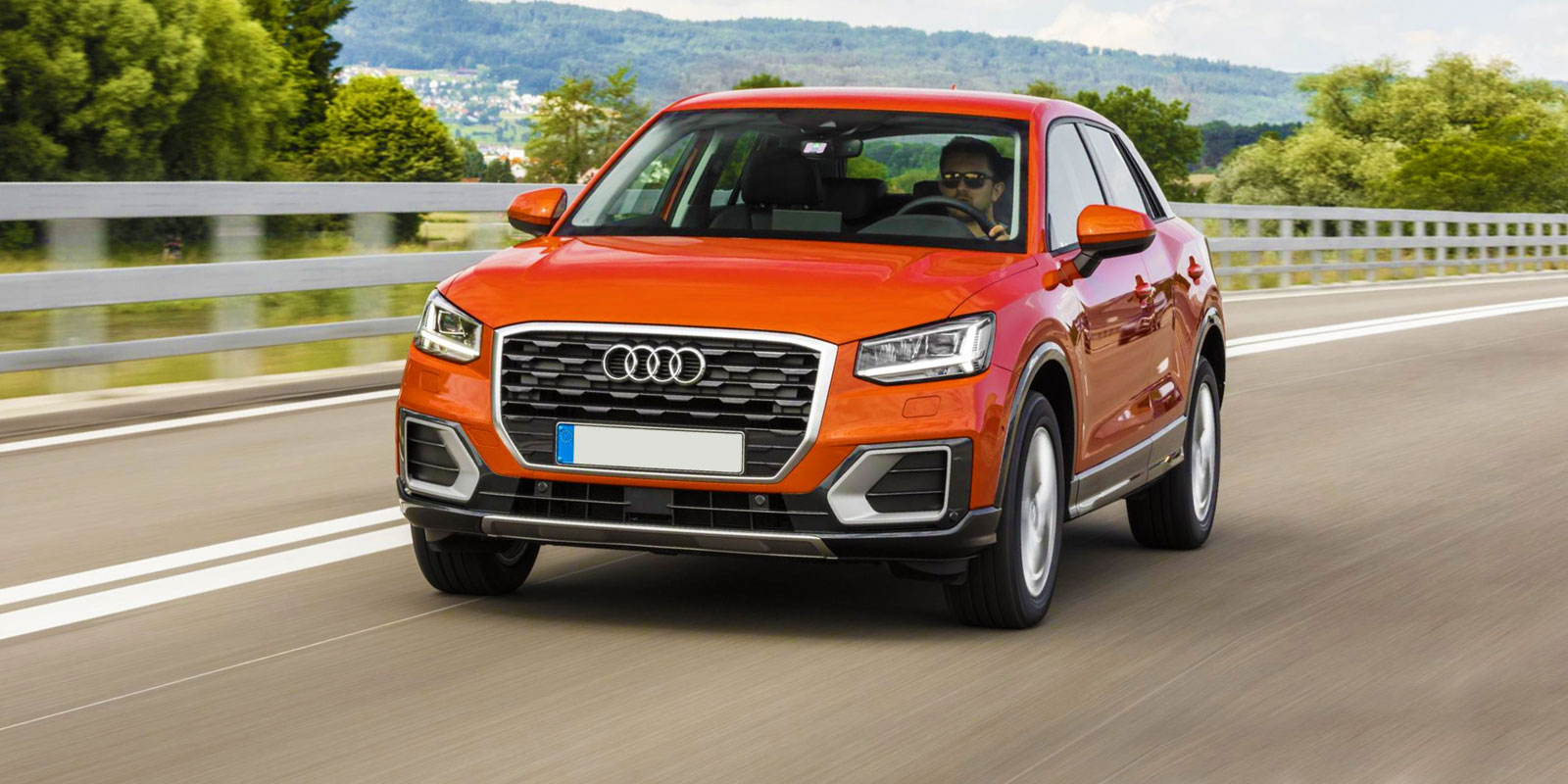 Audi Q2 colours guide and prices | carwow