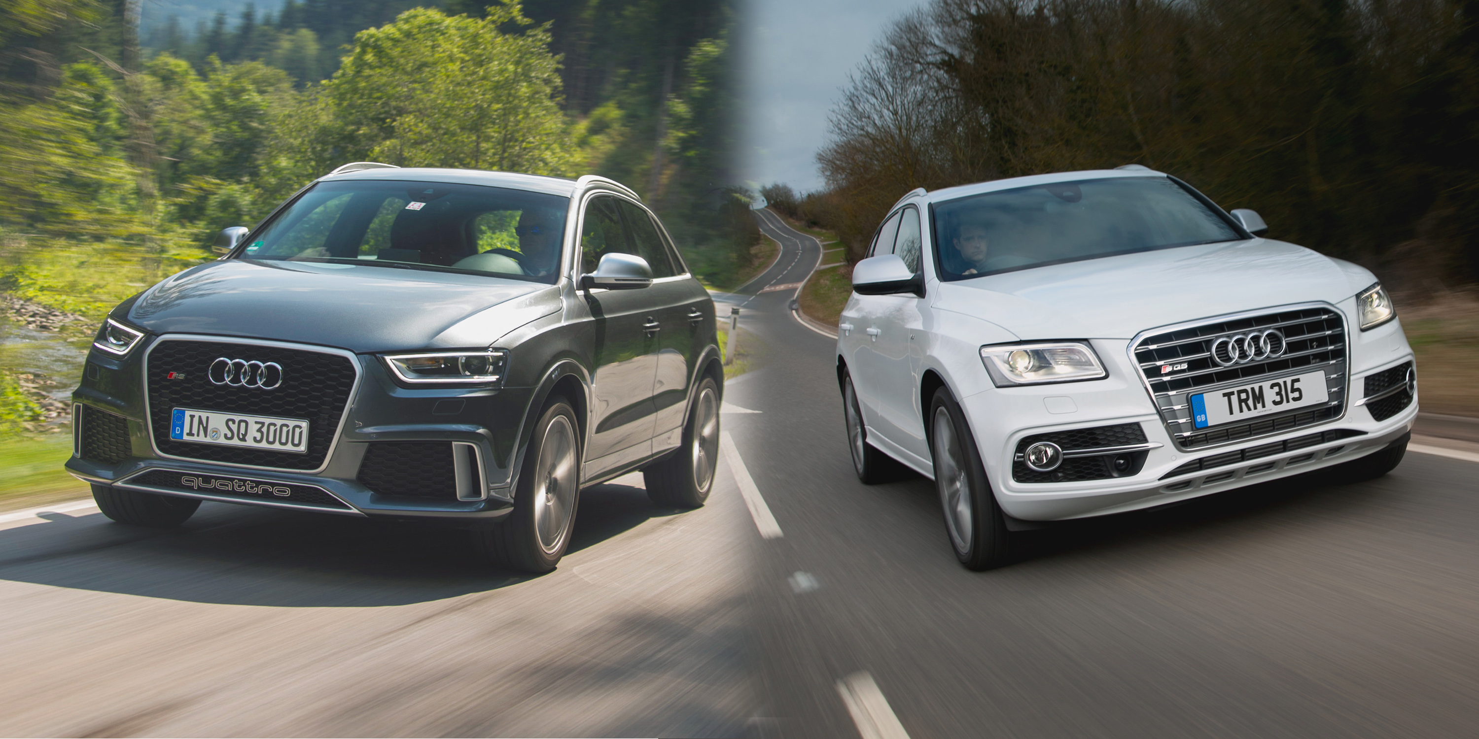 Audi Q3 Vs Audi Q5 Side By Side Uk Comparison Carwow