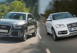 audi q3 2015 facelift vs pre facelift spot the. Black Bedroom Furniture Sets. Home Design Ideas