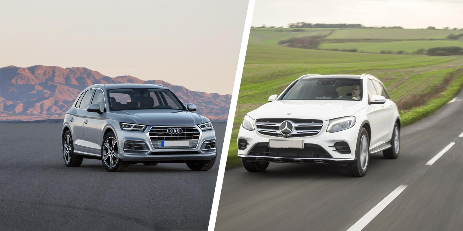Volvo Xc60 Vs Audi Q5 >> Mercedes GLC vs Audi Q5 SUV comparison | carwow