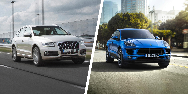 Audi Q5 vs Porsche Macan clash of the SUVs