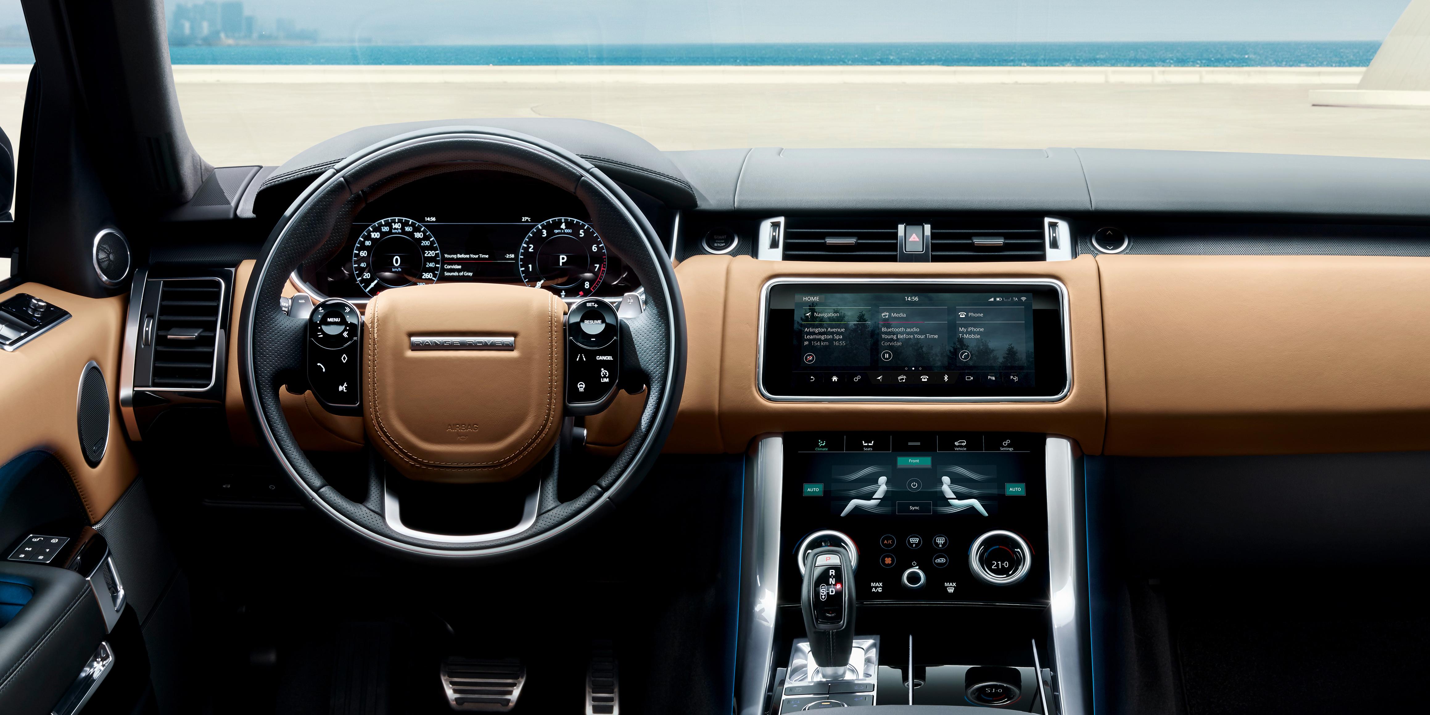 Range Rover Sport Interior >> Land Rover Range Rover Sport Interior Infotainment Carwow