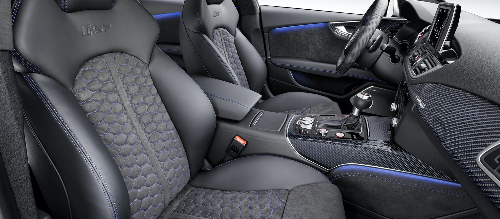 A Half Leather Half Alcantara Interior Can Be Found In Audi RS Models
