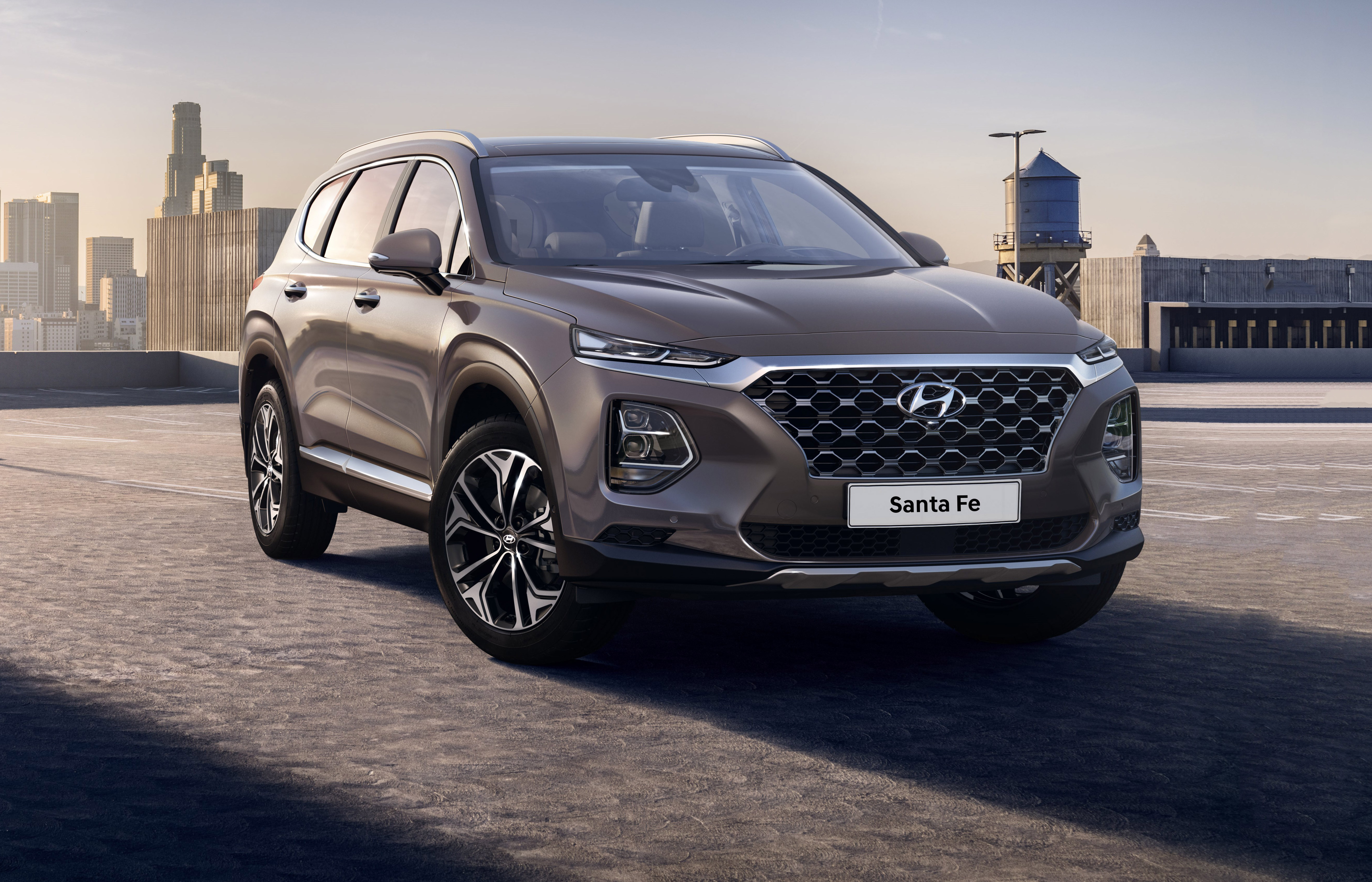 2018 hyundai santa fe 7 seater price specs release date carwow. Black Bedroom Furniture Sets. Home Design Ideas