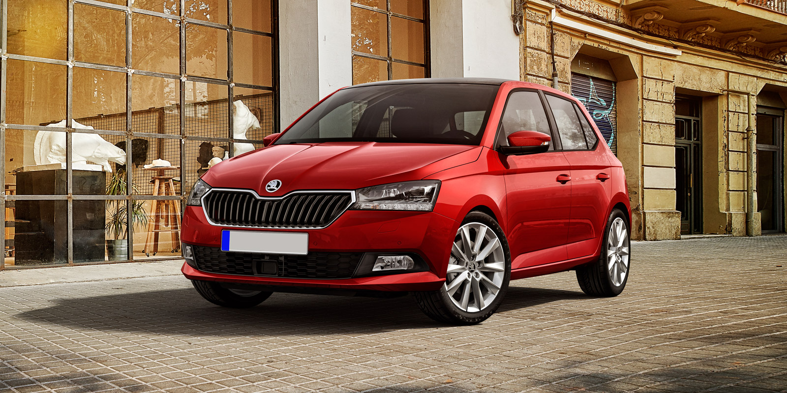 2019 skoda fabia price specs and release date carwow. Black Bedroom Furniture Sets. Home Design Ideas