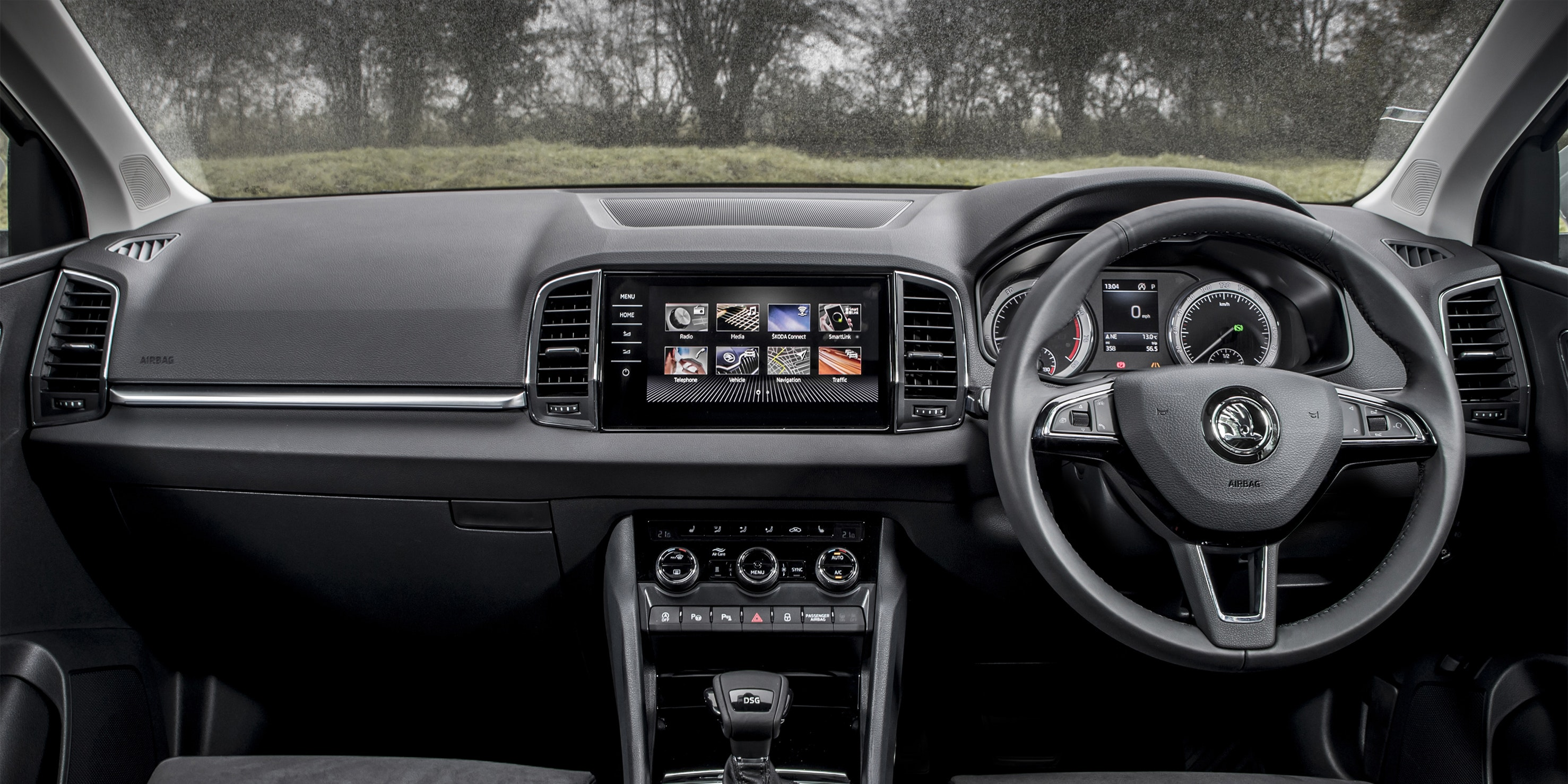 Skoda Karoq Interior And Infotainment Carwow