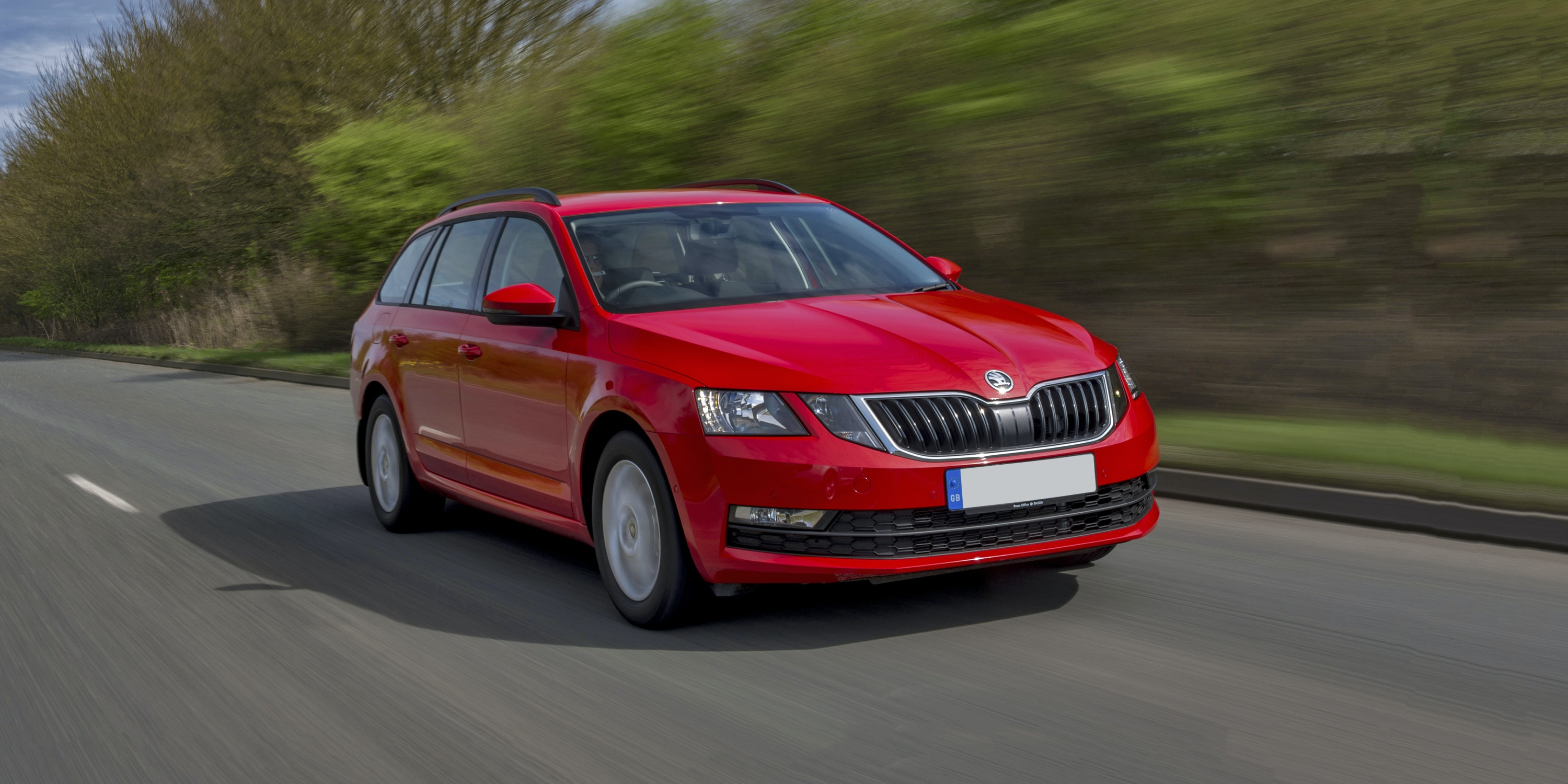 The Skoda Octavia's hugely practical for this price of car