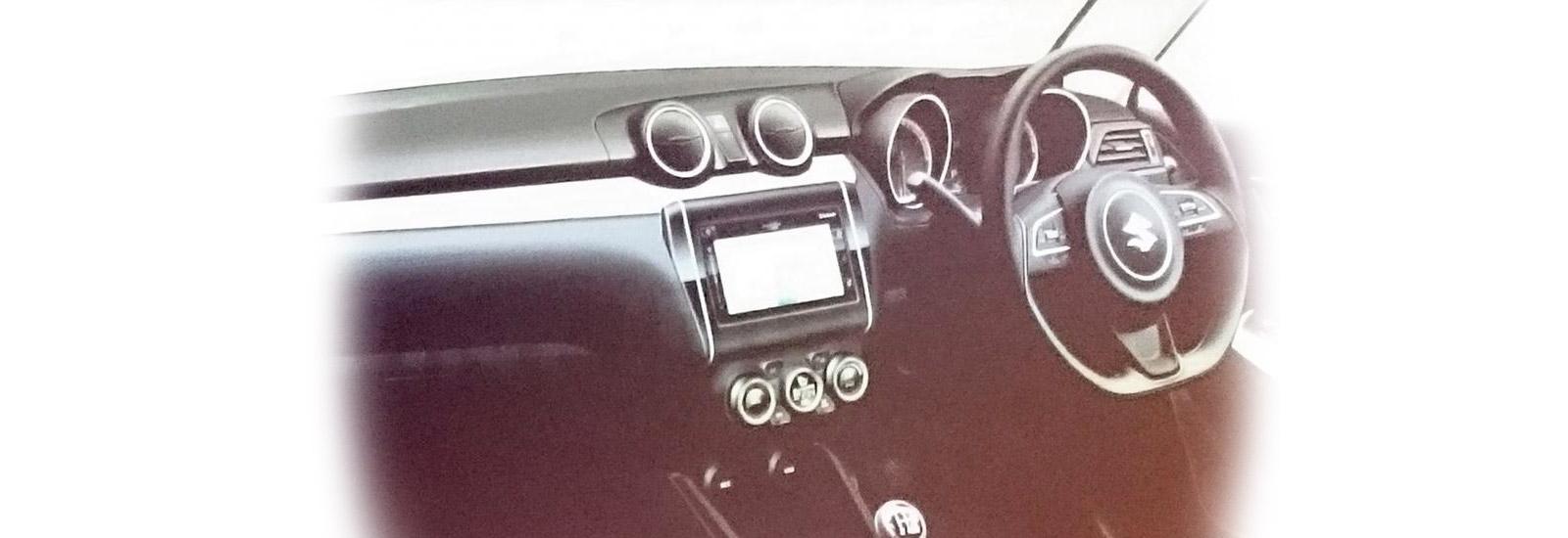 2018 suzuki swift sport interior. wonderful swift the sport will get a racier version of the new swiftu0027s interior shown here on 2018 suzuki swift sport interior