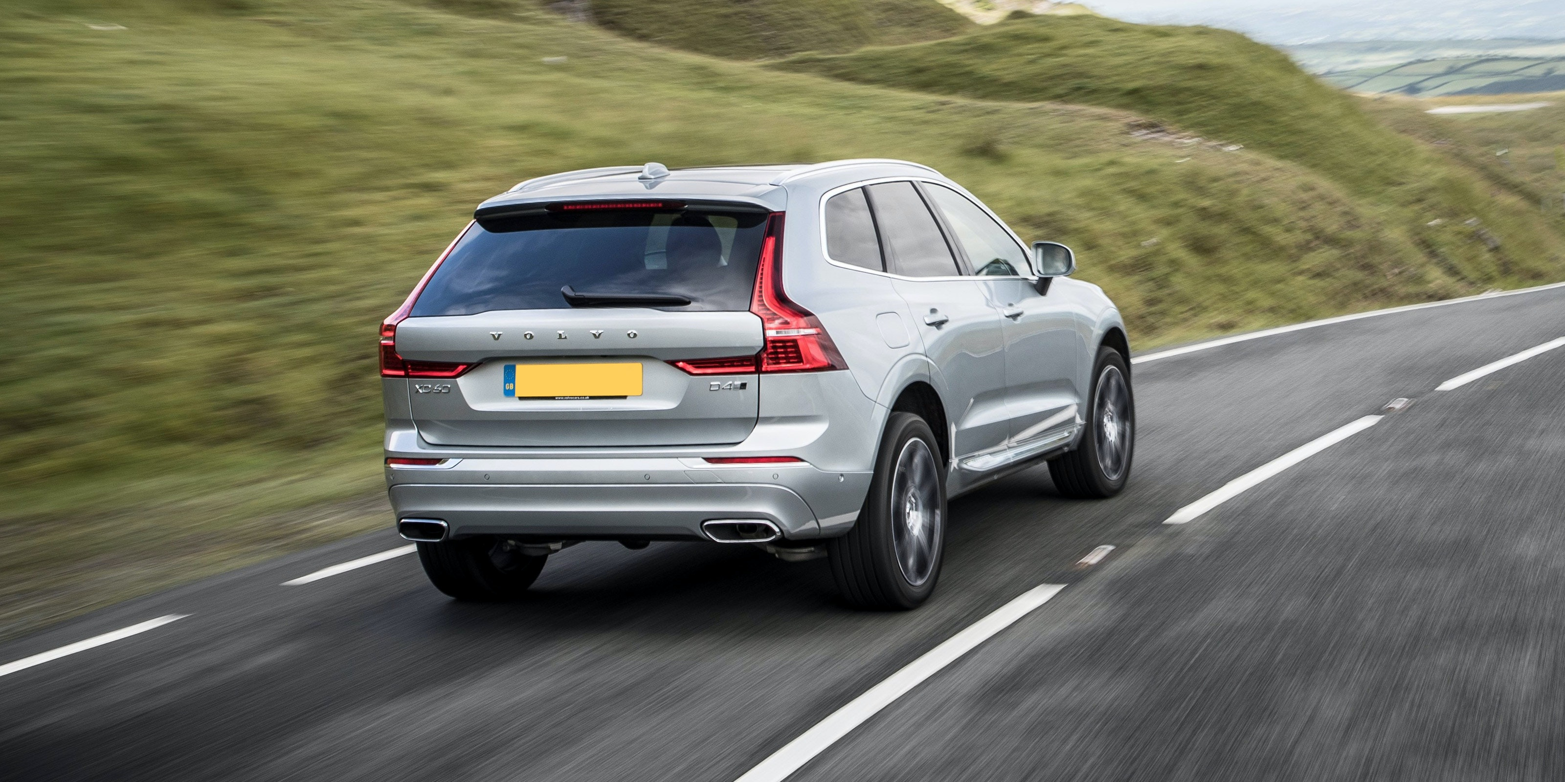 It's easy to see out of the XC60