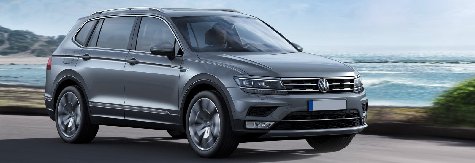2017 VW Tiguan 7seater price specs release date  carwow
