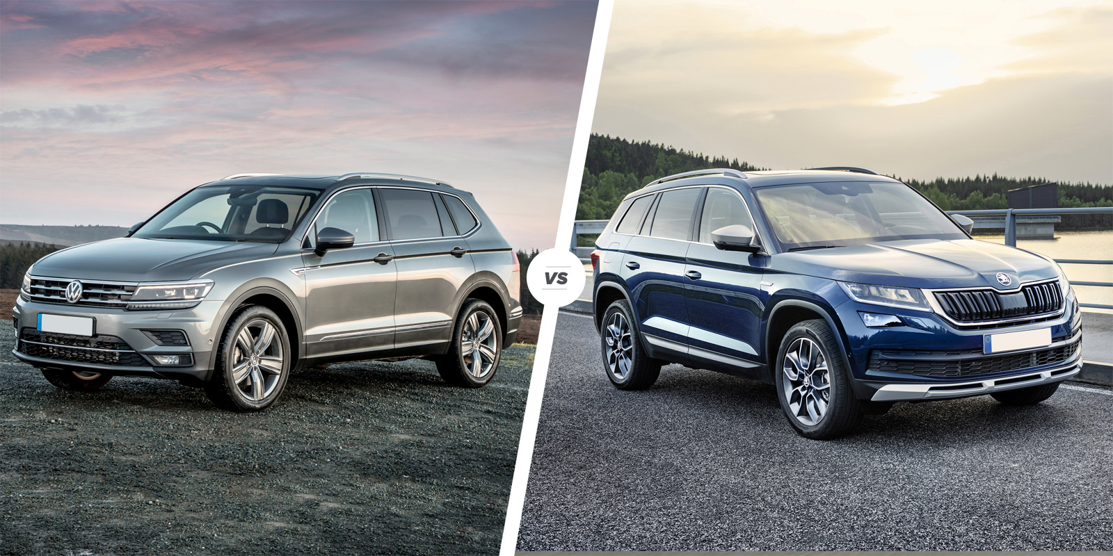 Kuga Dimensions >> VW Tiguan Allspace vs Skoda Kodiaq – which is best? | carwow