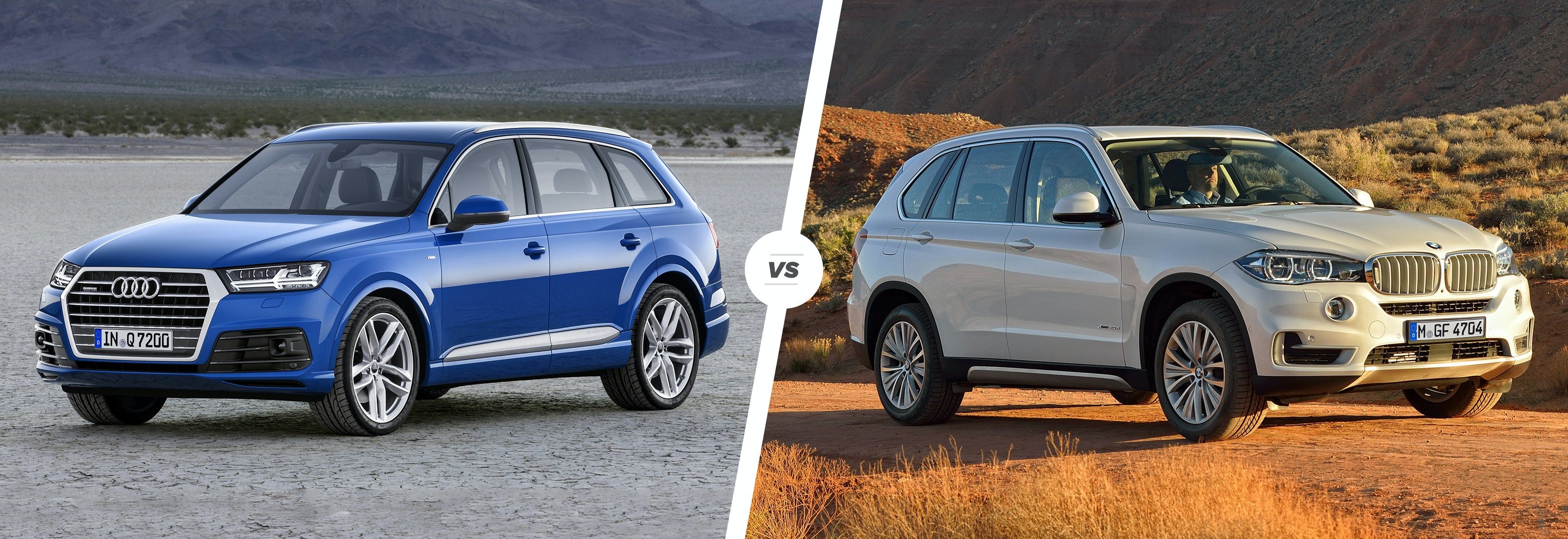 Audi Q7 vs BMW X5 – luxury SUV showdown