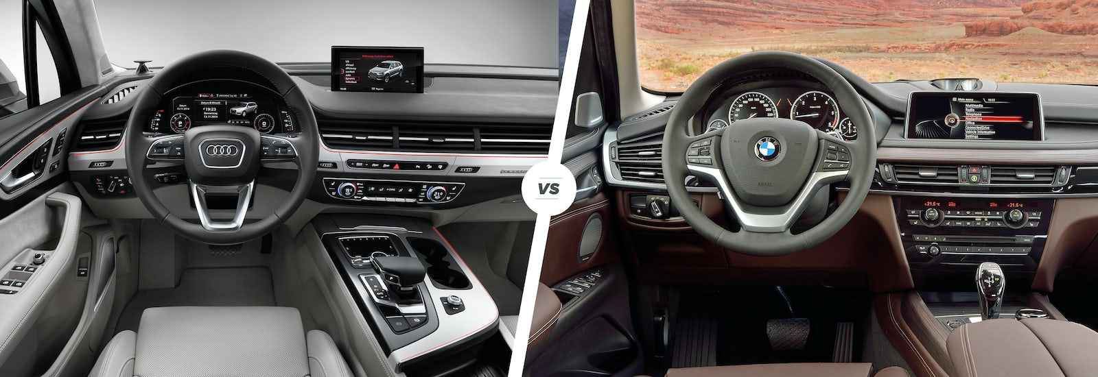 Audi Q Vs BMW X Luxury SUV Showdown Carwow - Audi vs bmw