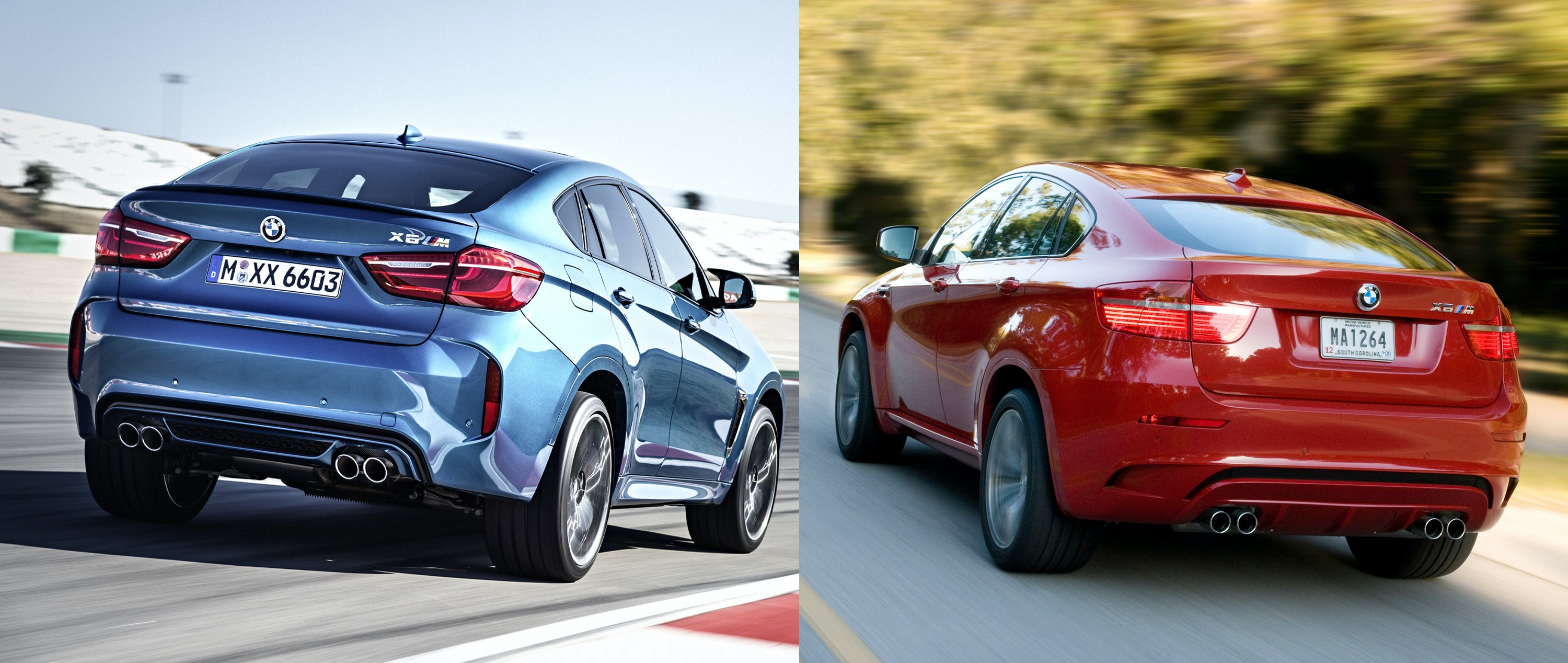 2015 Bmw X6 M Old Vs New Compared Carwow