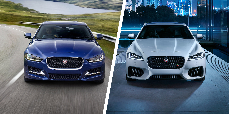Jaguar XE vs XF: Great British saloon brawl | carwow